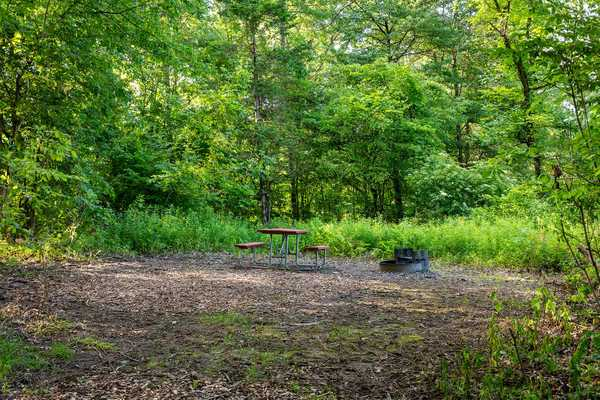 Rustic Walk-in Tent Site