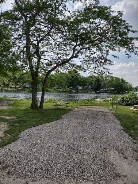 Lakefront 20/30/50 Amp/Water RV Site