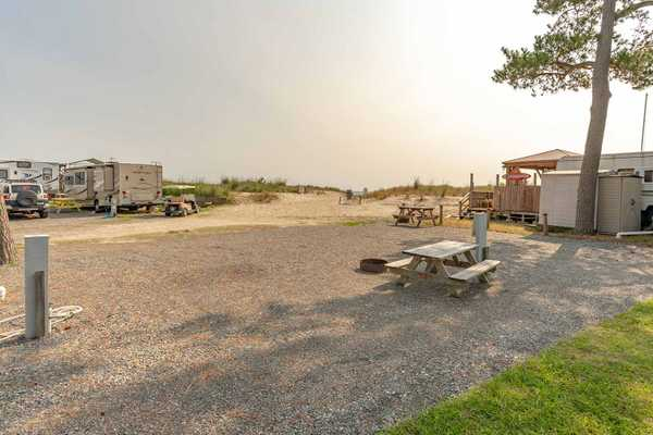 Waterfront Full Hookup 50amp RV Site