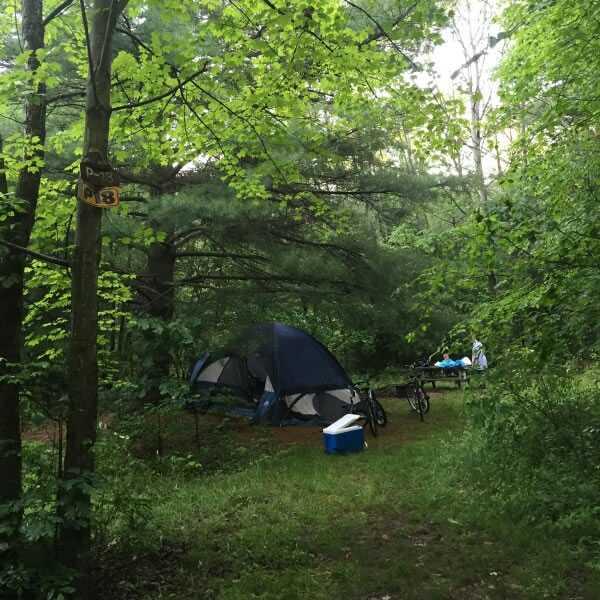 Primitive Walk In Tent