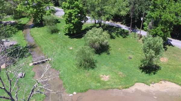 Creekside Water + Electric Tent