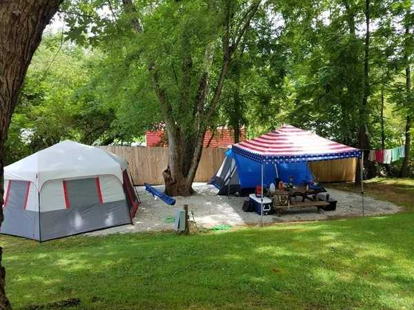 Water only, Large Tent Site, Primitive