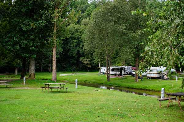 Premium Tent / Pop-Up Creek-side Site