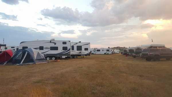 30 Foot  All Vehicles + Tent Campsite