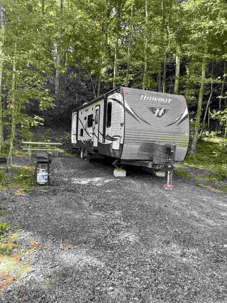 The Hideout Travel Trailer