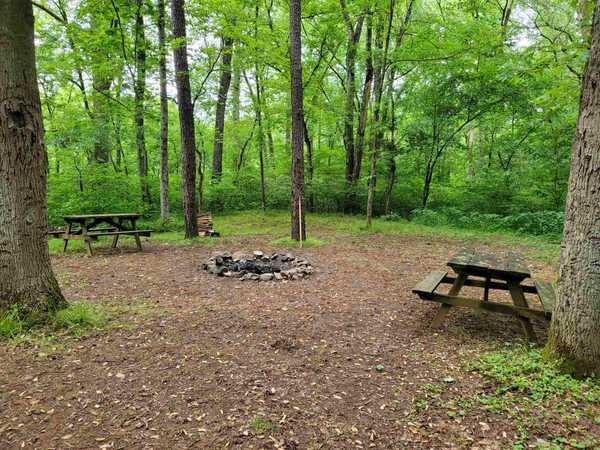 XL Group River Front Primitive Tent Site (up to 20 people)