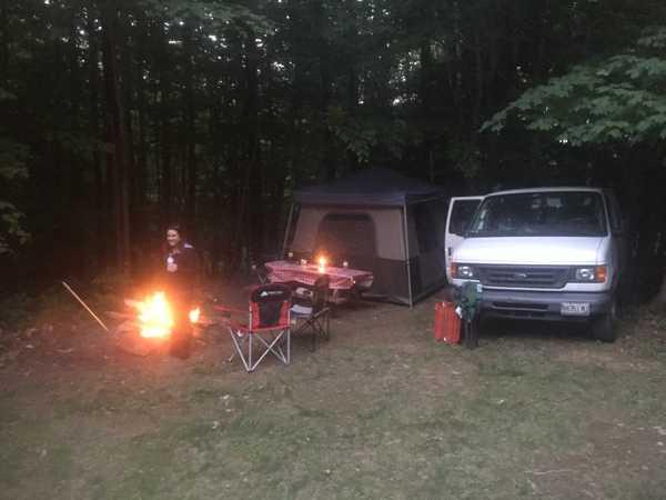 20 Amp Large Tent Site