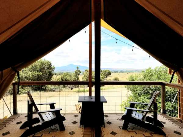 Primitive Glamping Tent