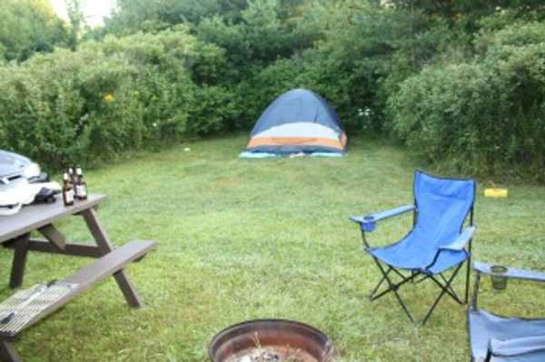 Small Group Camping Tent Area