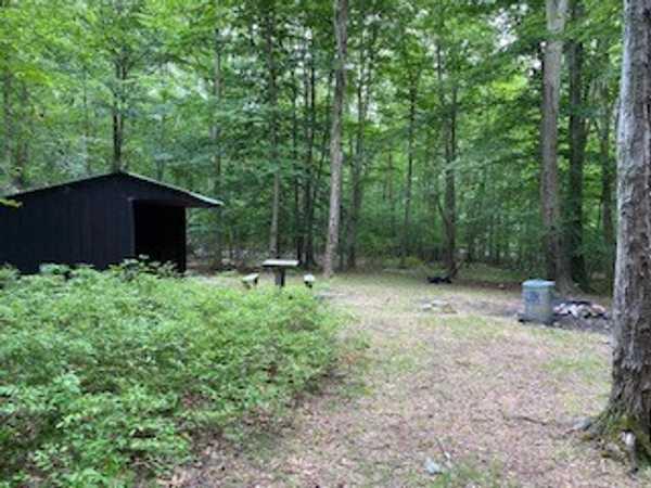 Northeast Campsite (map # 9)