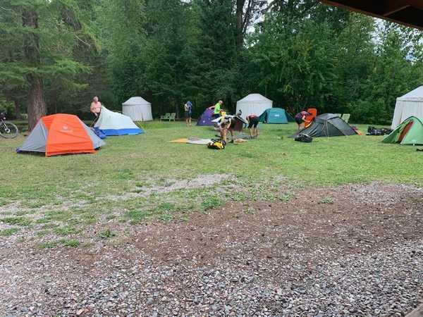 Rustic Tent Site