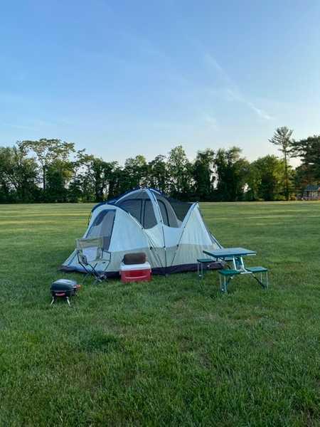 Open Field Tent Site