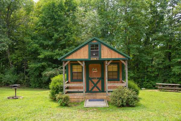 Lake Stephens: Small Open Floor Plan Cabin