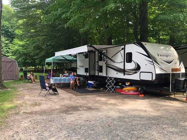 30/50 Amp Electric Only RV Site (Res)