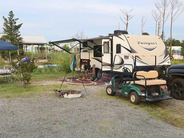 Fiesta Deck RV Site