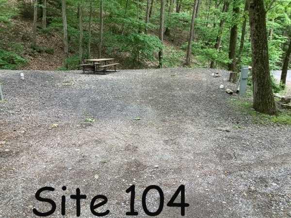 Mountainside 30/50 Amp Full Hookup RV Site