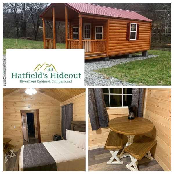 1 Bed 1 Bath Studio Cabin