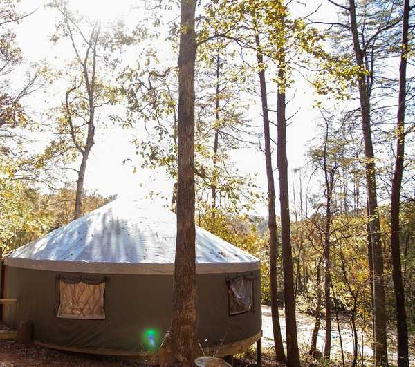 Deluxe 30ft Yurt (Wheelchair Accessible)