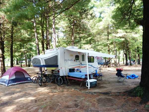 Water and Electric RV Site