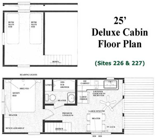 Medium Deluxe Cabin