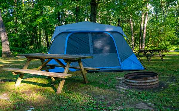 No- Hook Up (Tent Site)