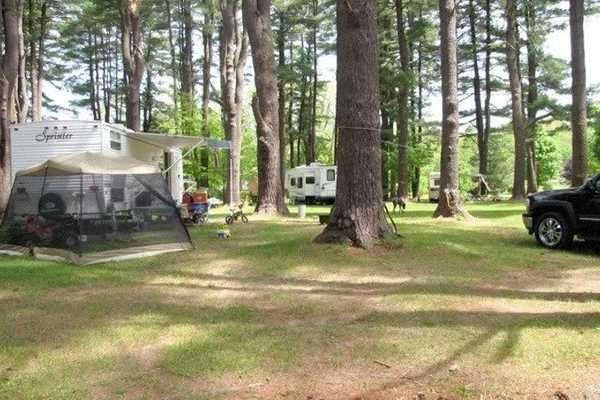 30 Amp Electric/Water RV Site