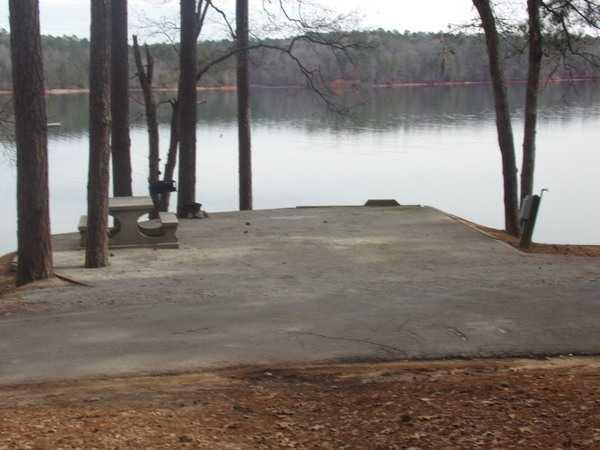 50 AMP Savannah River Waterfront Campsite