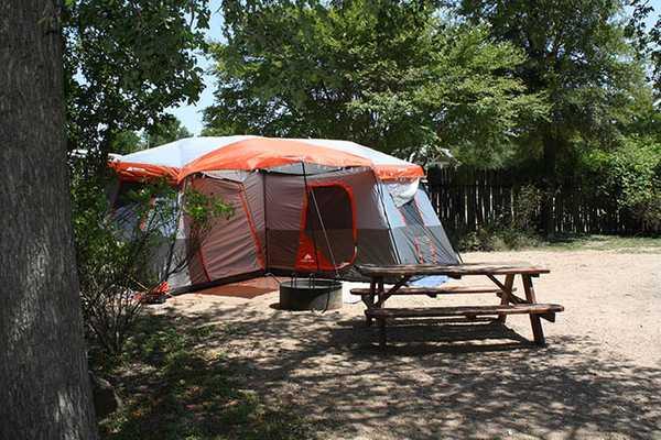 Garden Tent Site