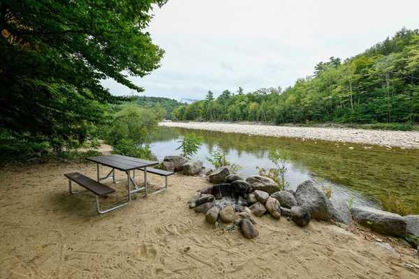 Riverfront Rustic RV Site
