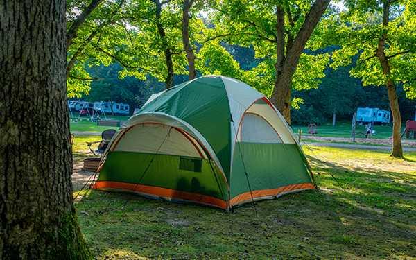 20 Amp W/E (Tent Site)