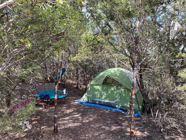 Cliffside Tent Site