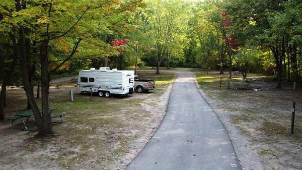 W/E Tent/RV Site Back-In