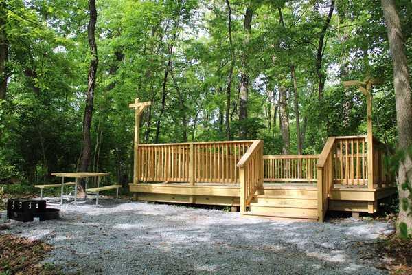 Walk-In Primitive Tent Site