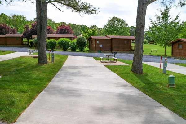 Red Carpet Pull-Thru RV Site