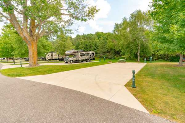 South Exterior Full Hookup RV Site