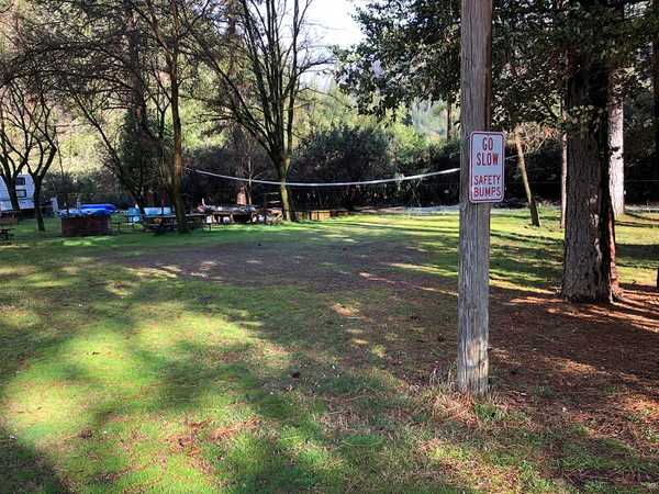 50 Amp Full Hook Up Shaded Group RV Site (Back-In)
