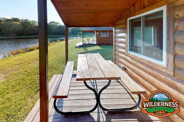 Lakeside Rustic Cabin
