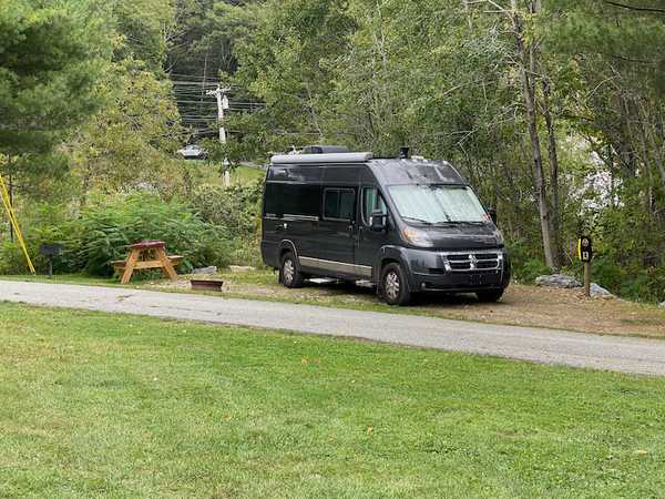 Back-In Water & Electric 30 Amp RV Site