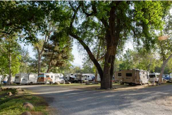 Pull-In RV Site