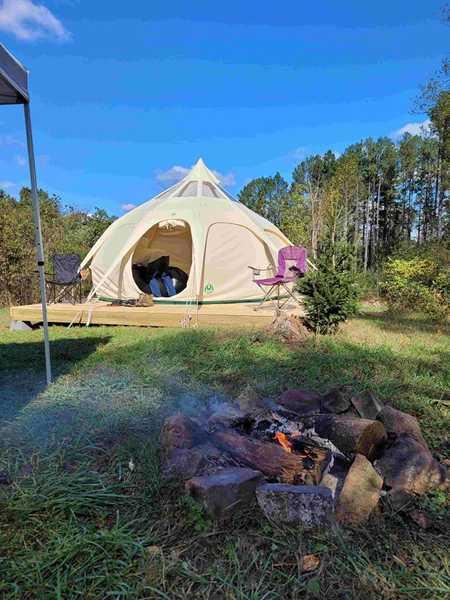 Fancy Belle Tent