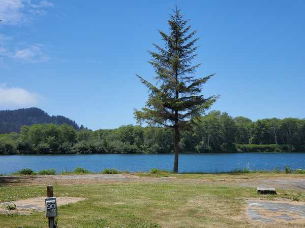River Front Deluxe Full Hook-Up Campsite