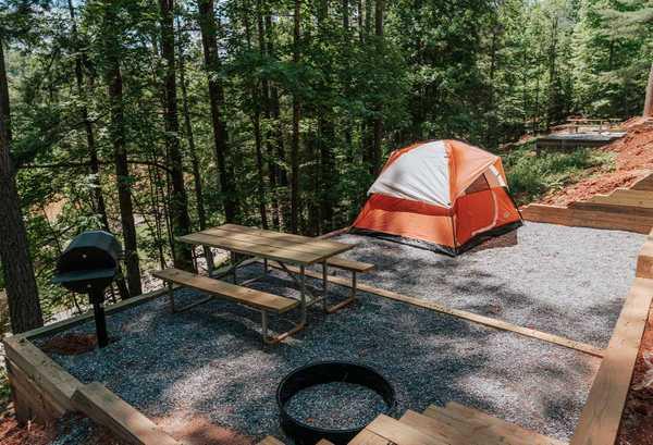 Red Carpet Tent Site
