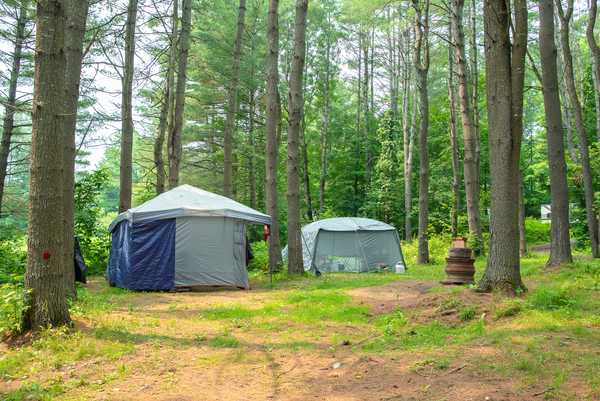 Large Rustic Tent Site